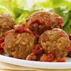 Cheesy Brown Rice Meatballs