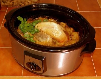 Slow-Cooked Chicken