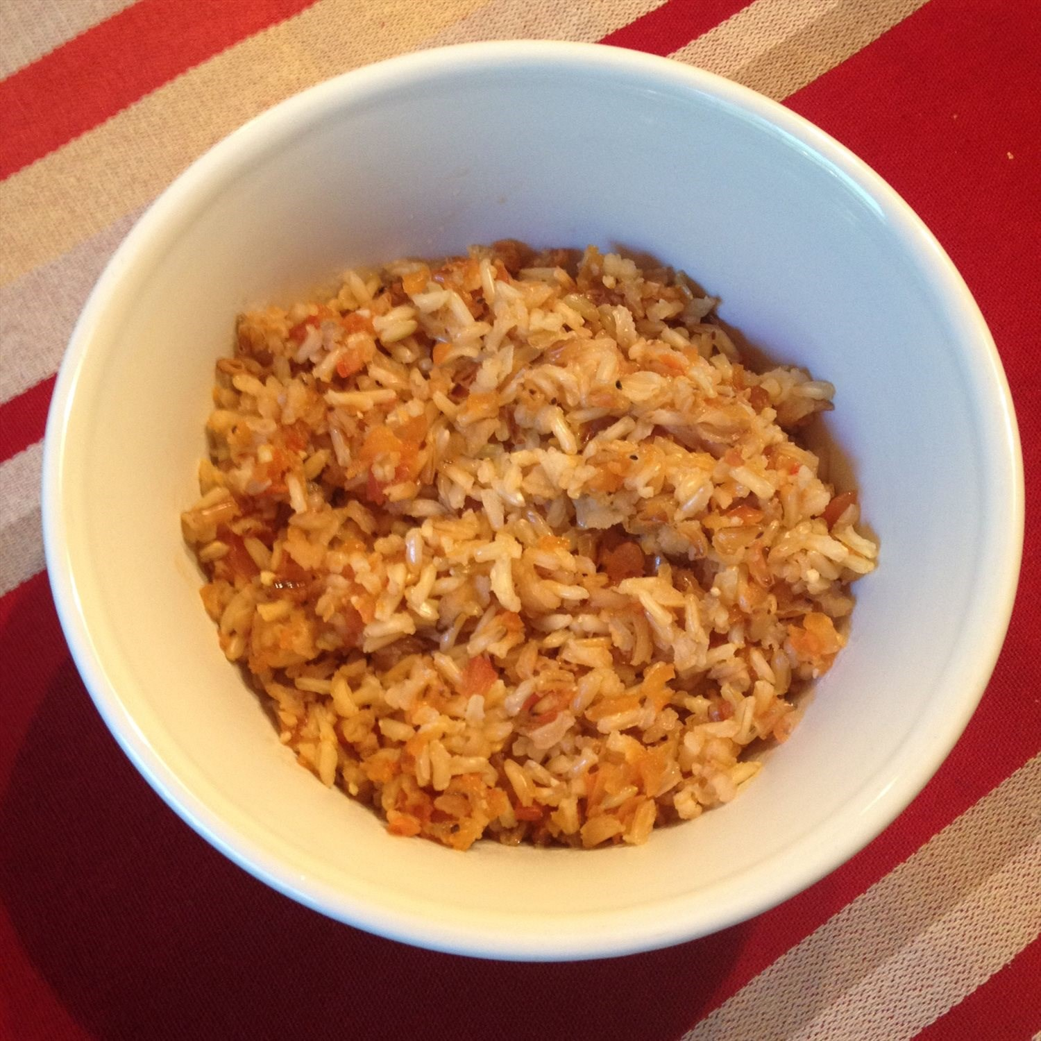 Saucy Mexican Rice