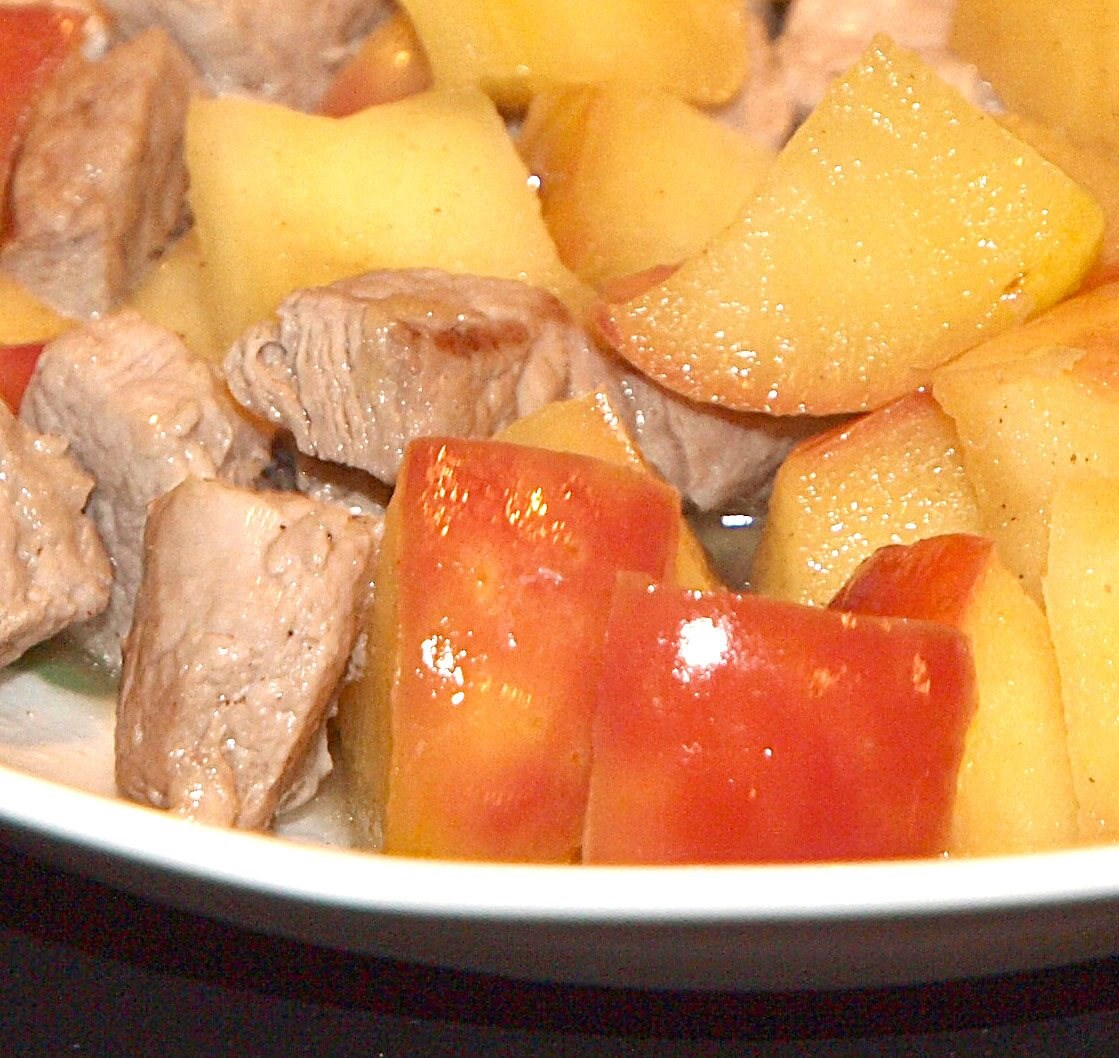 Pork n' Apple à la V.
