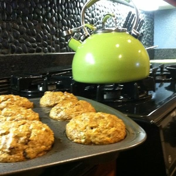 Orange Cinnamon Bran Muffins