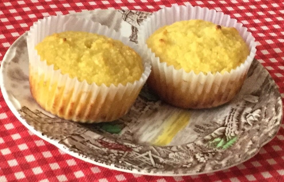 Muffin with Honey