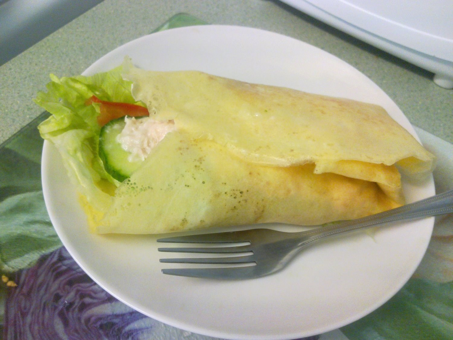 Easy Egg wraps
