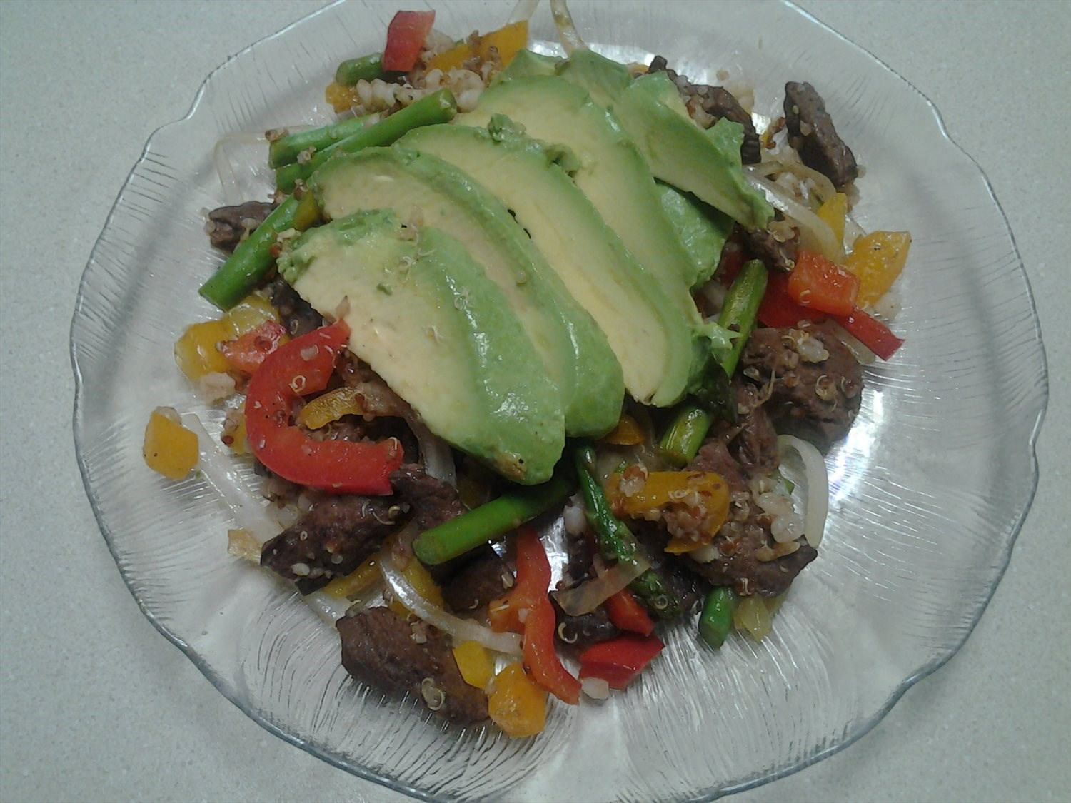 Spicy Venison Stir Fry Supper