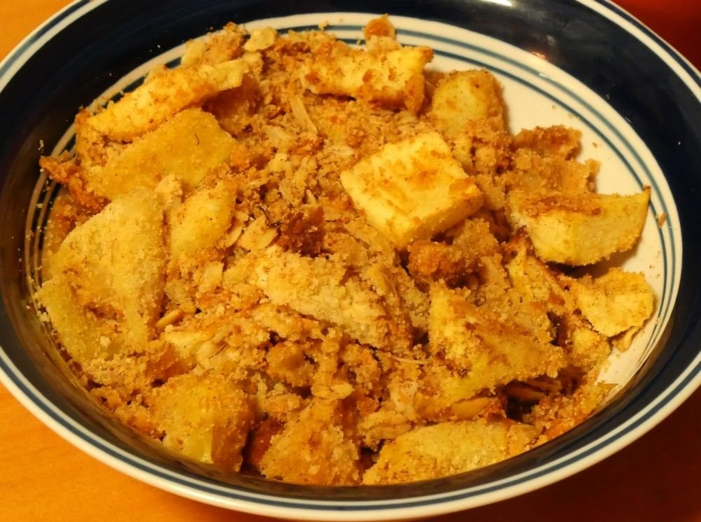 Irish Apple Crumble