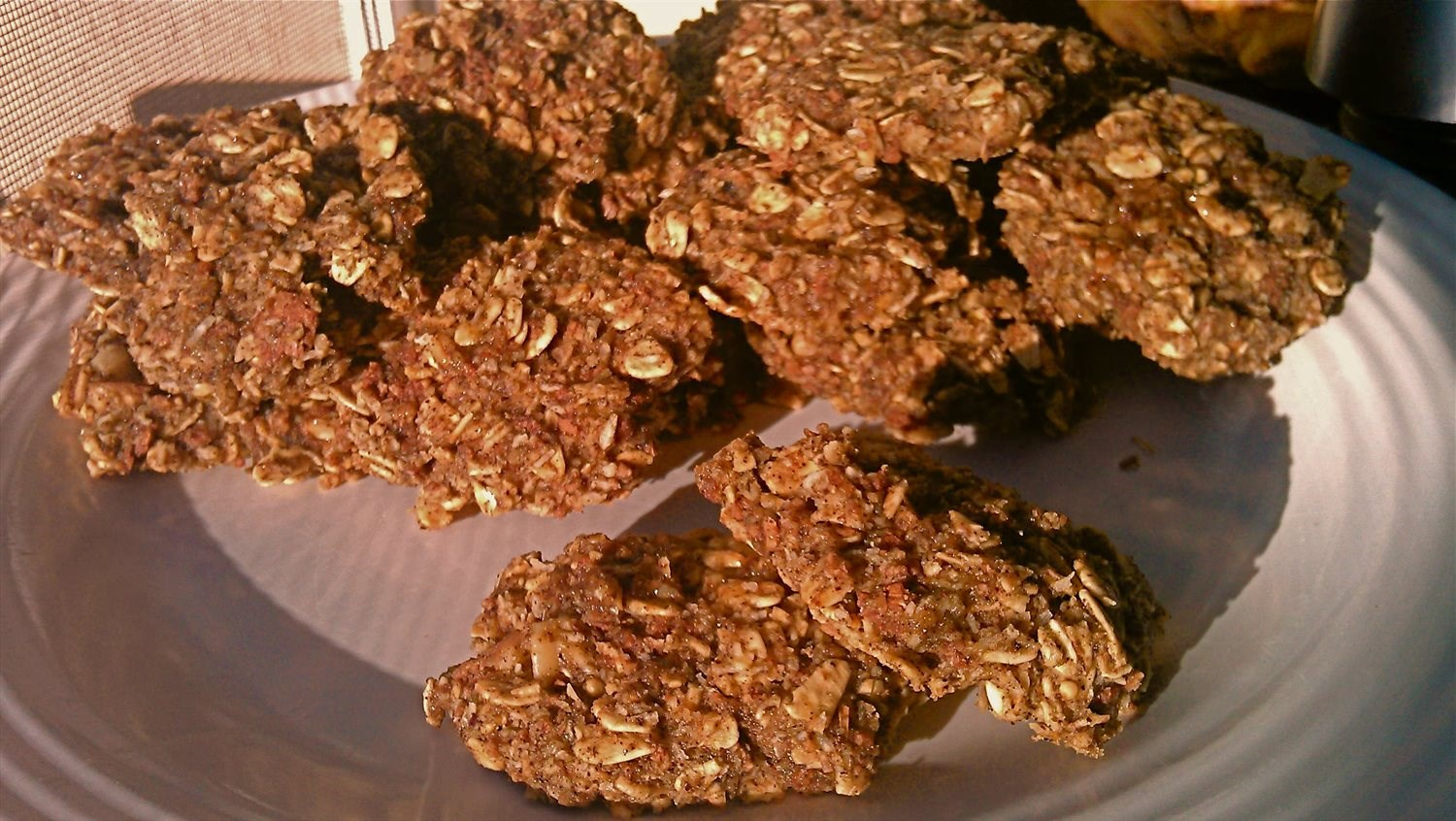 Chewy Honey Cinnamon Oatmeal Cookies