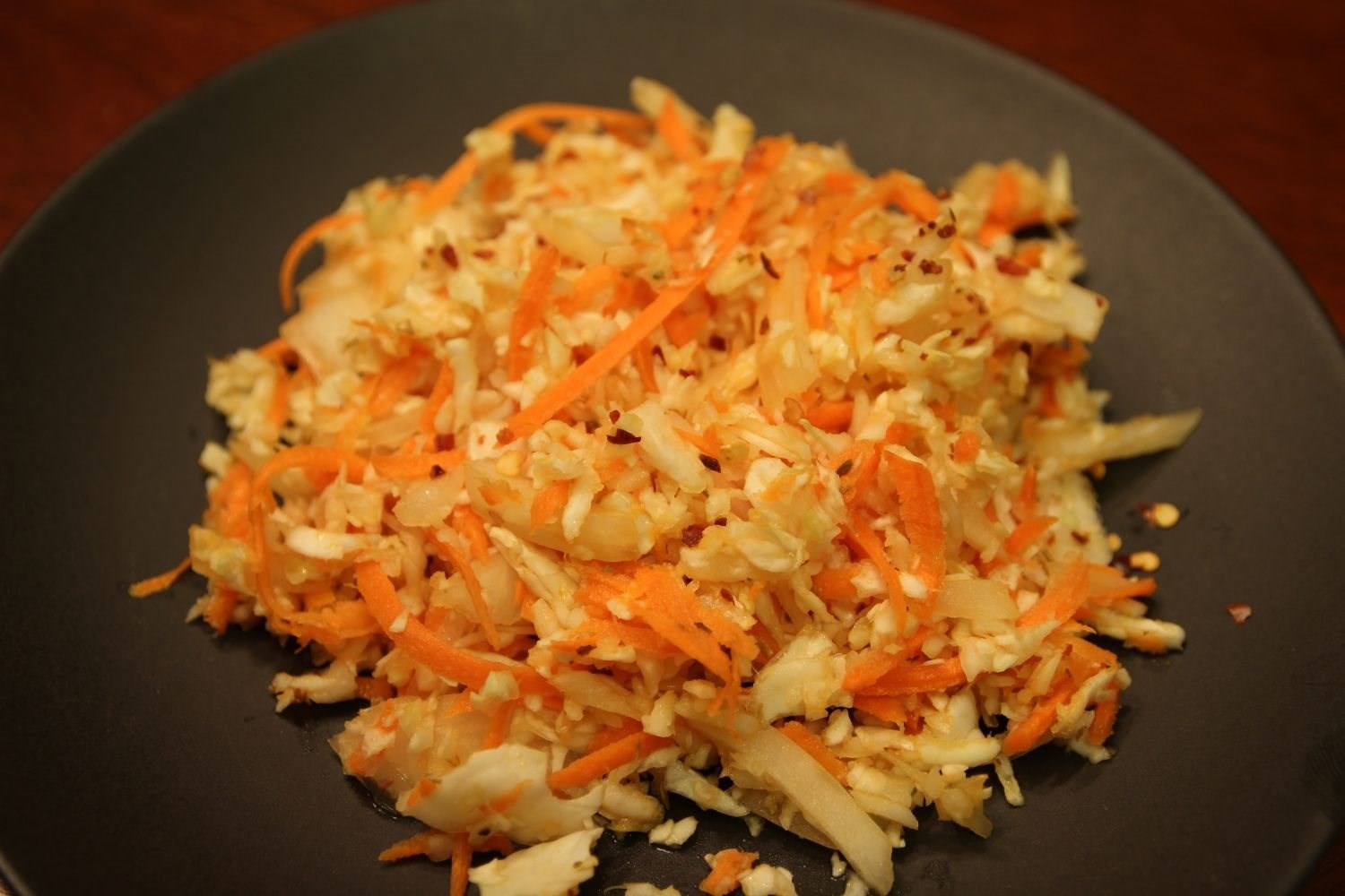 El Salvadoran Cabbage Salad