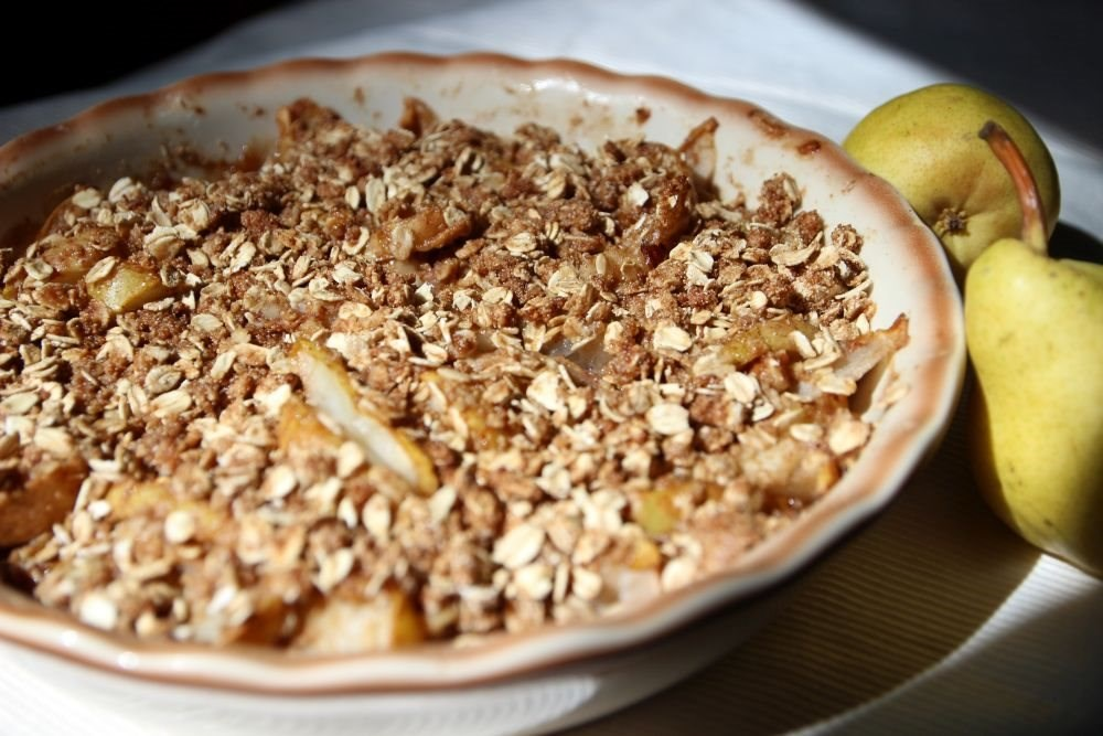 Maple Pear Crisp