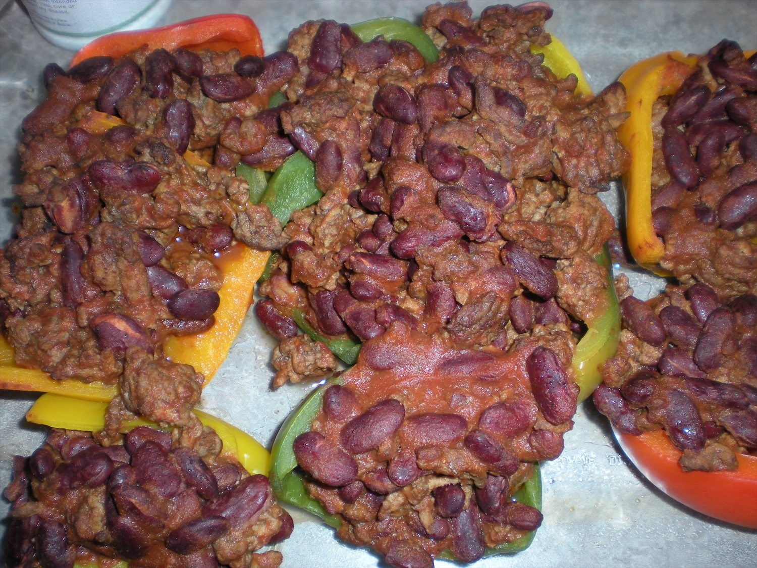 Stuffed Peppers-Taco Style