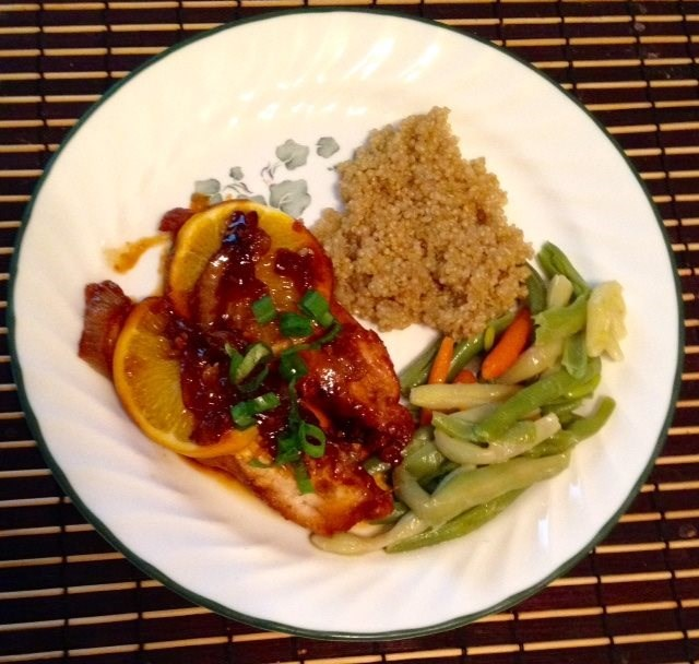 Whit's Oriental Honey Chicken