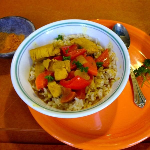 Coconut Chicken Curry