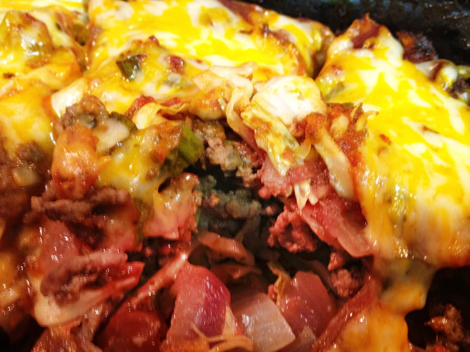 Meat Cabbage Roll Casserole