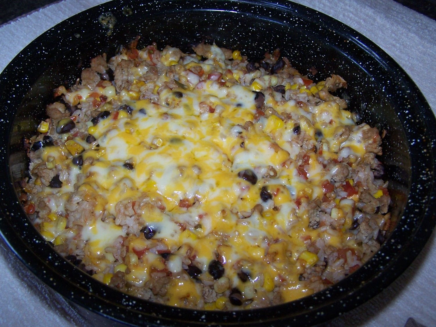 Santa Fe Stuffed Pepper Casserole