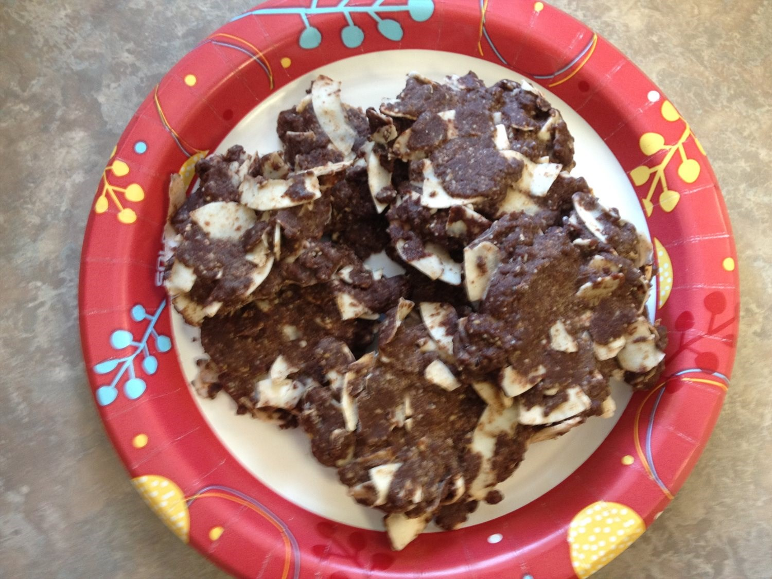 Another No Bake Chocolate Cookie