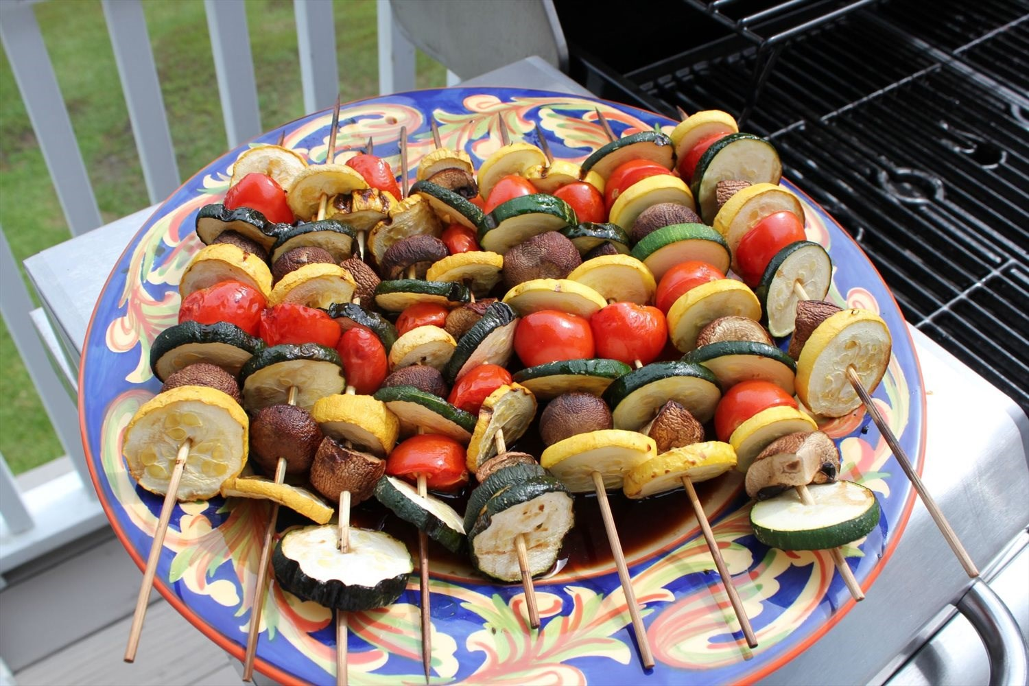 how to cut tomatoes for kabobs