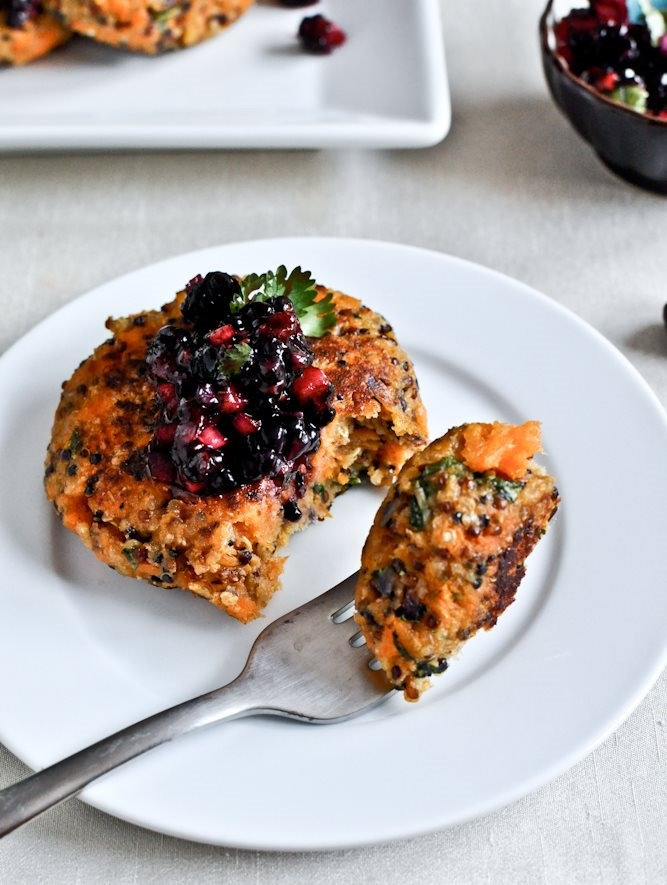 Sweet Potato Quinoa Cakes