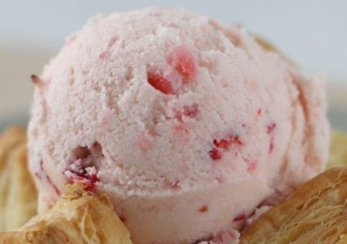 Strawberry- Banana Ice Cream