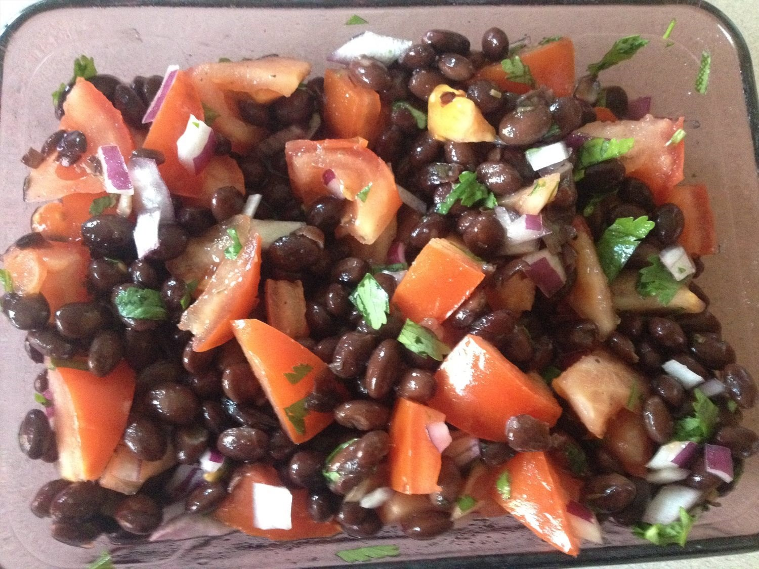 Black Bean and Tomatoes