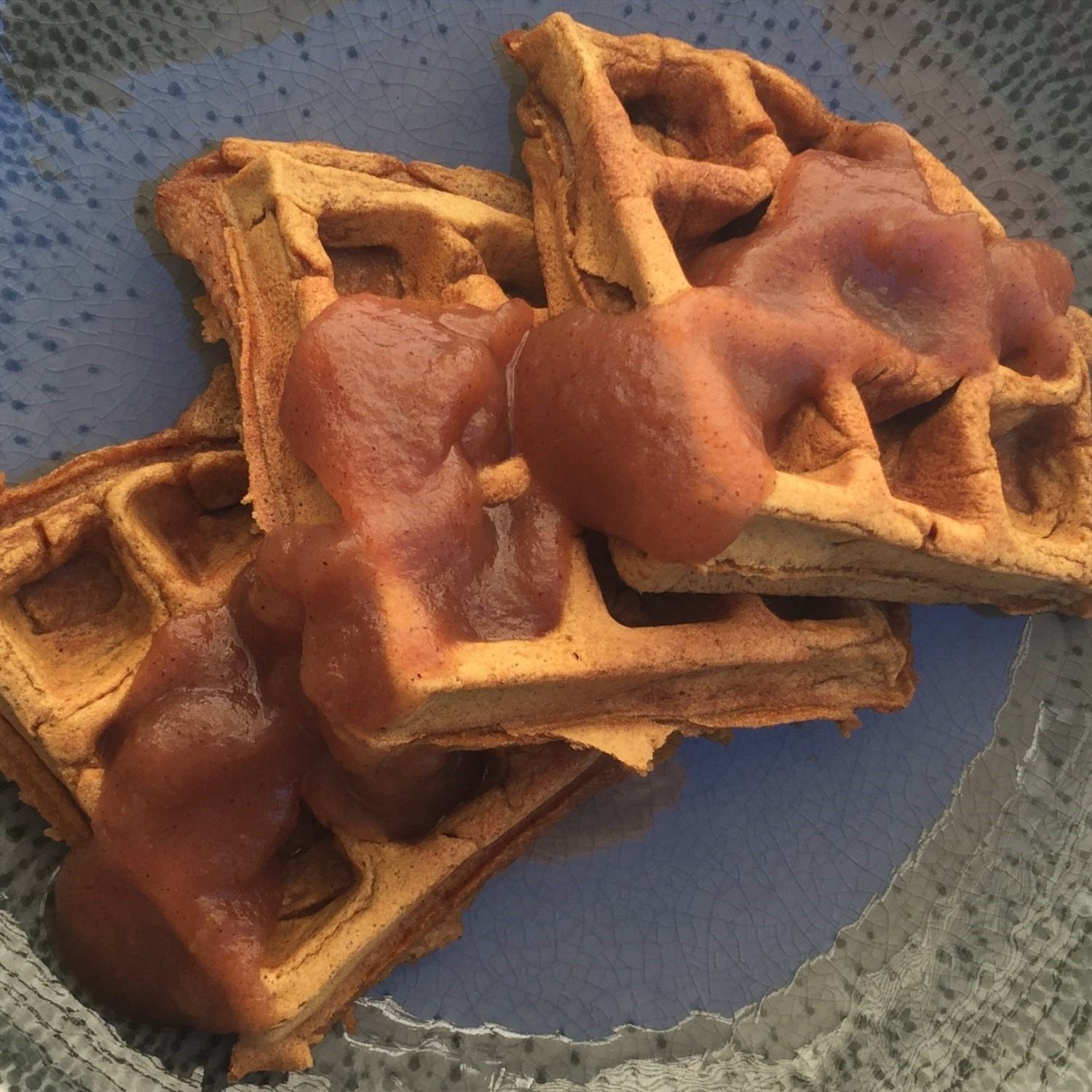 Crisp and Fluffy Pumpkin Waffles