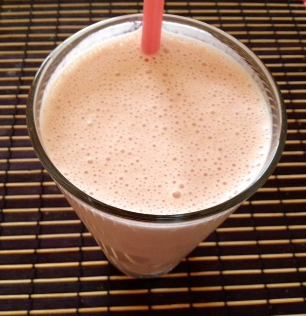 Strawberry Yogurt Protein Smoothie