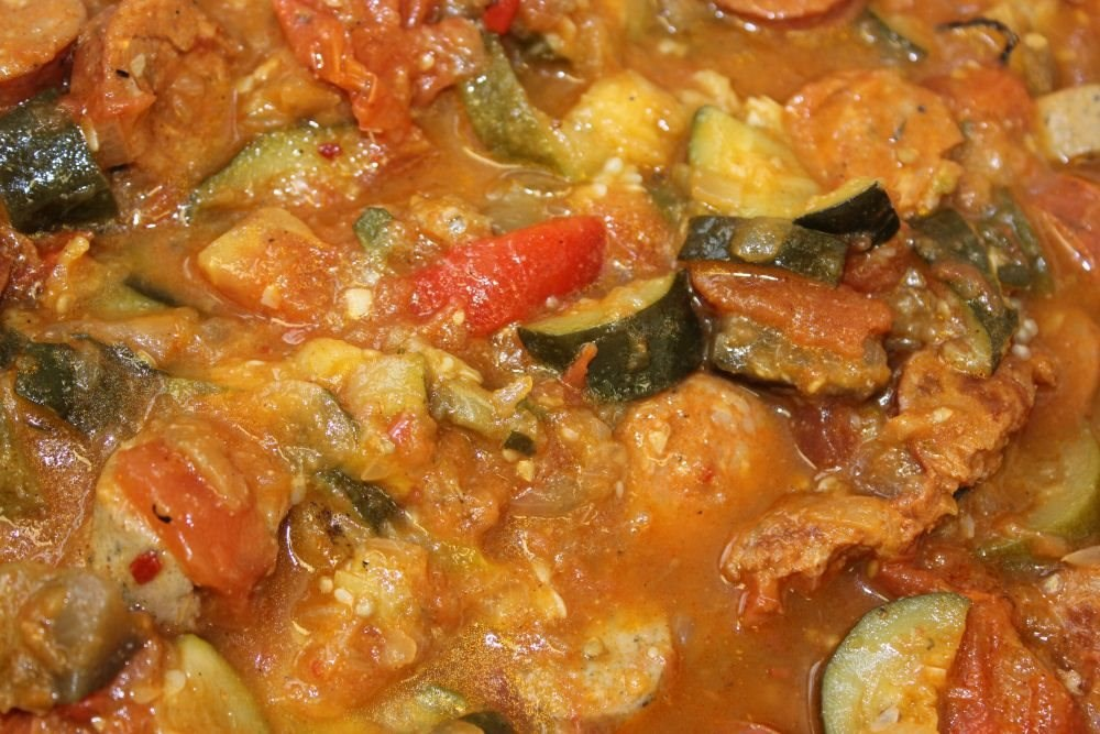 Summer Sausage Ratatouille