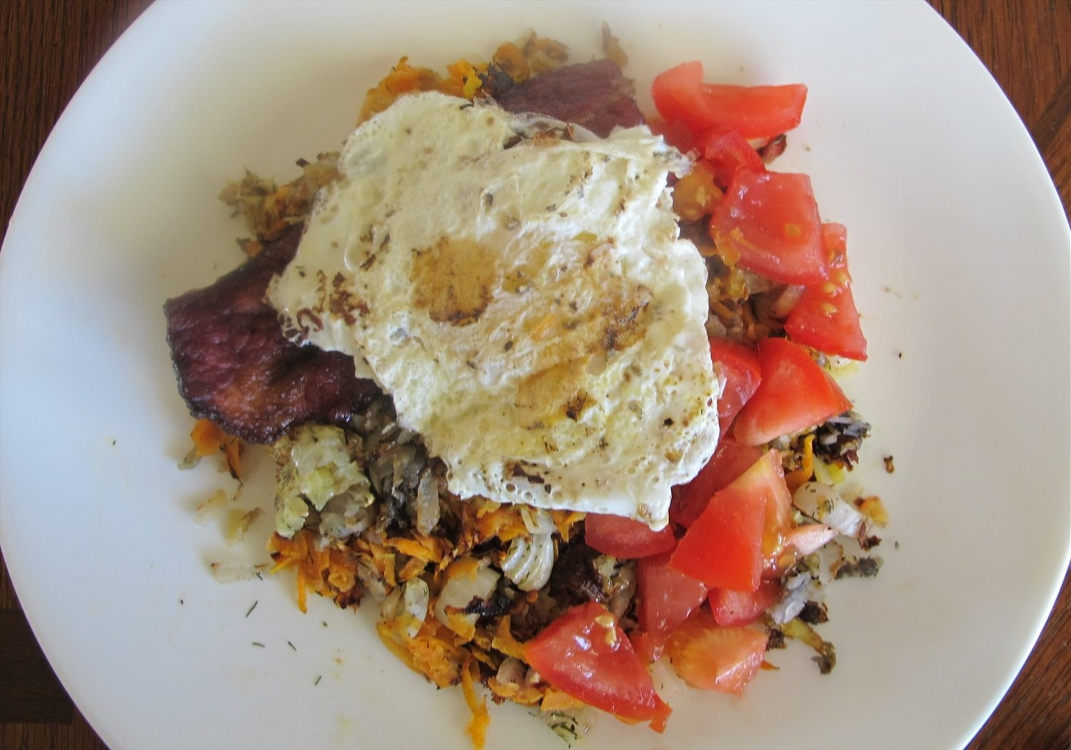 Sunshine Breakfast Hash