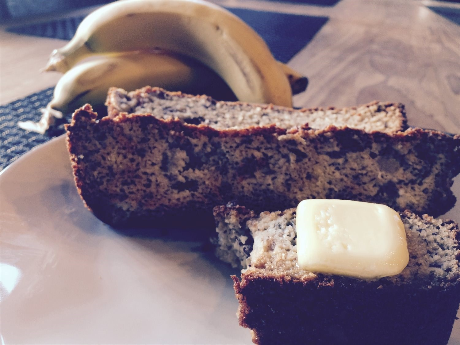 No Wheat Banana Bread