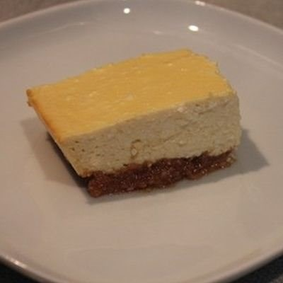 Healthy Cheesecake Squares
