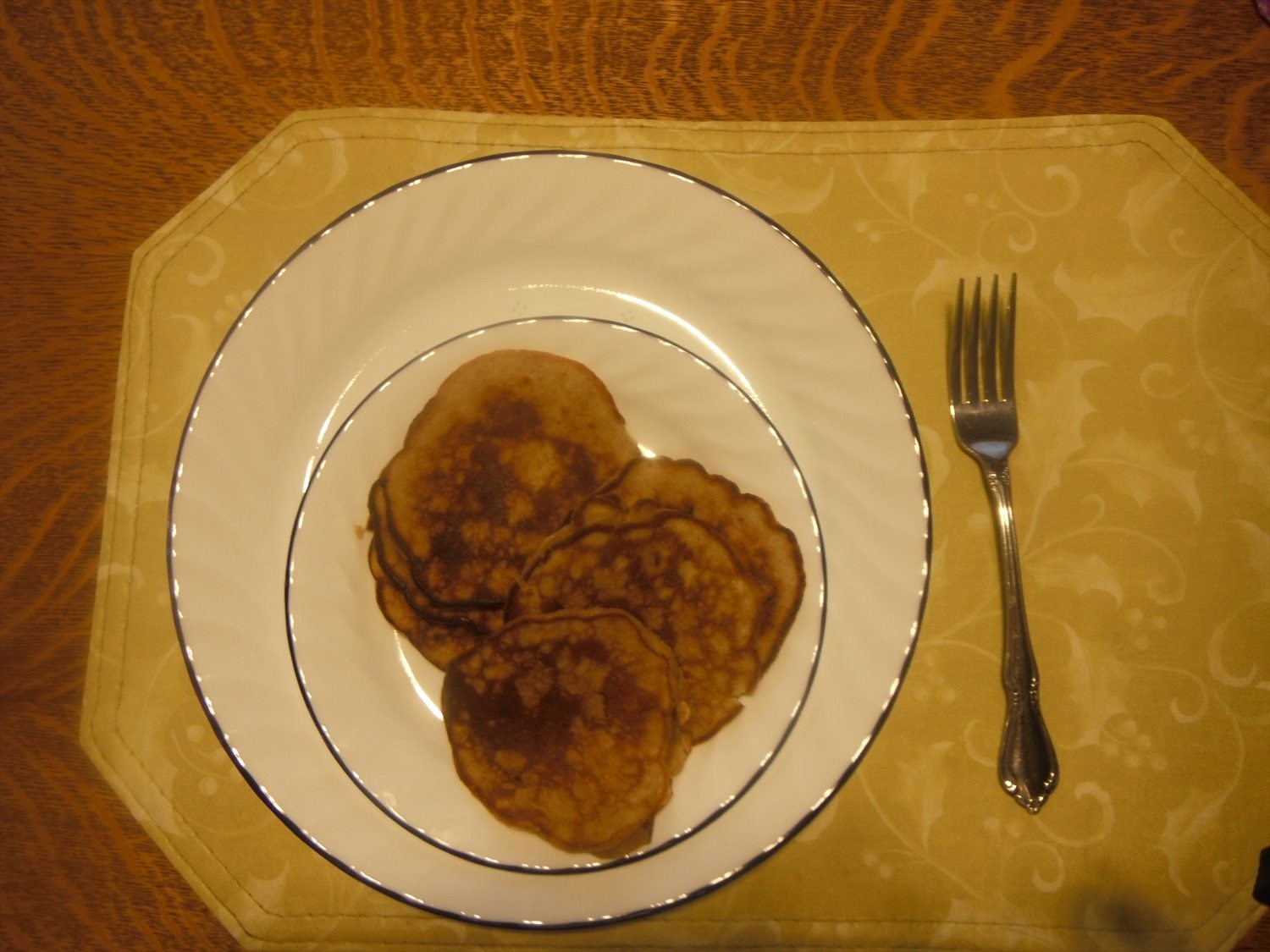 2 Ingredient  Banana Pancakes