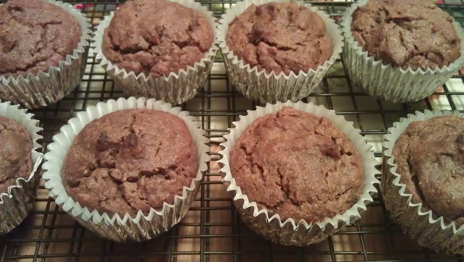 Millet, Almond and Date Muffins
