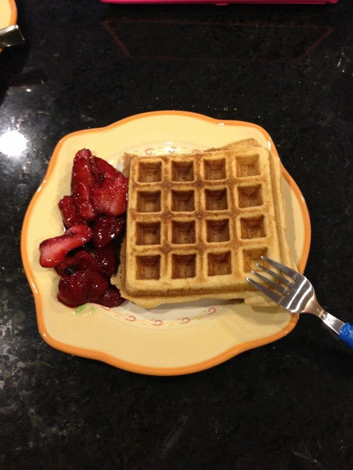 Isabel's Coconut Waffles