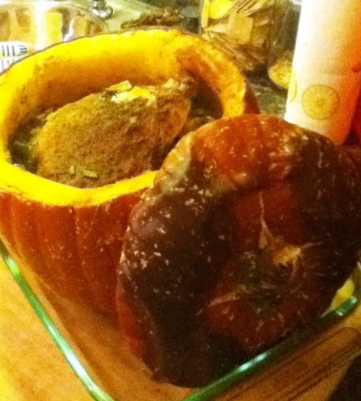 Pumpkin Pot Chicken