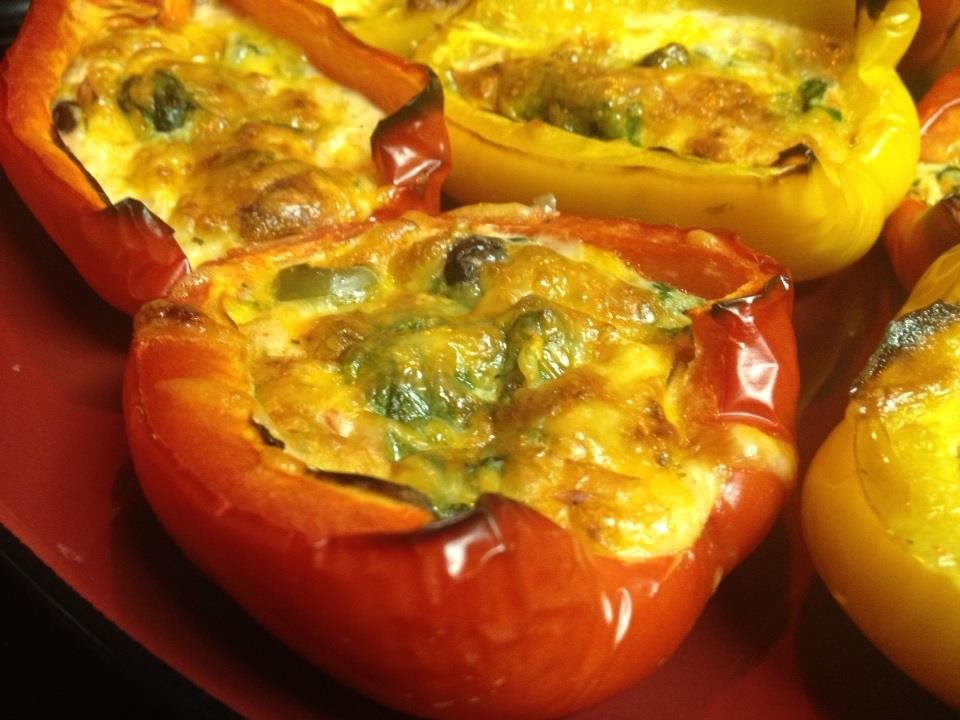 Sante Fe Omelet Stuffed Peppers