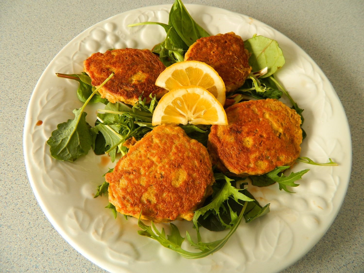Salmon and Chickpea Patties