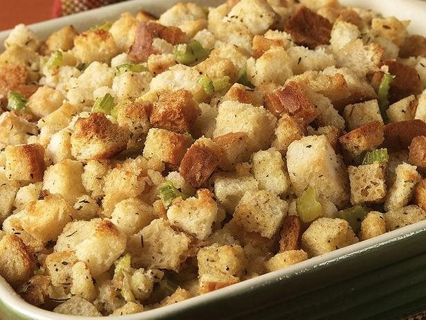 Classic Sausage Herb Stuffing by Vi