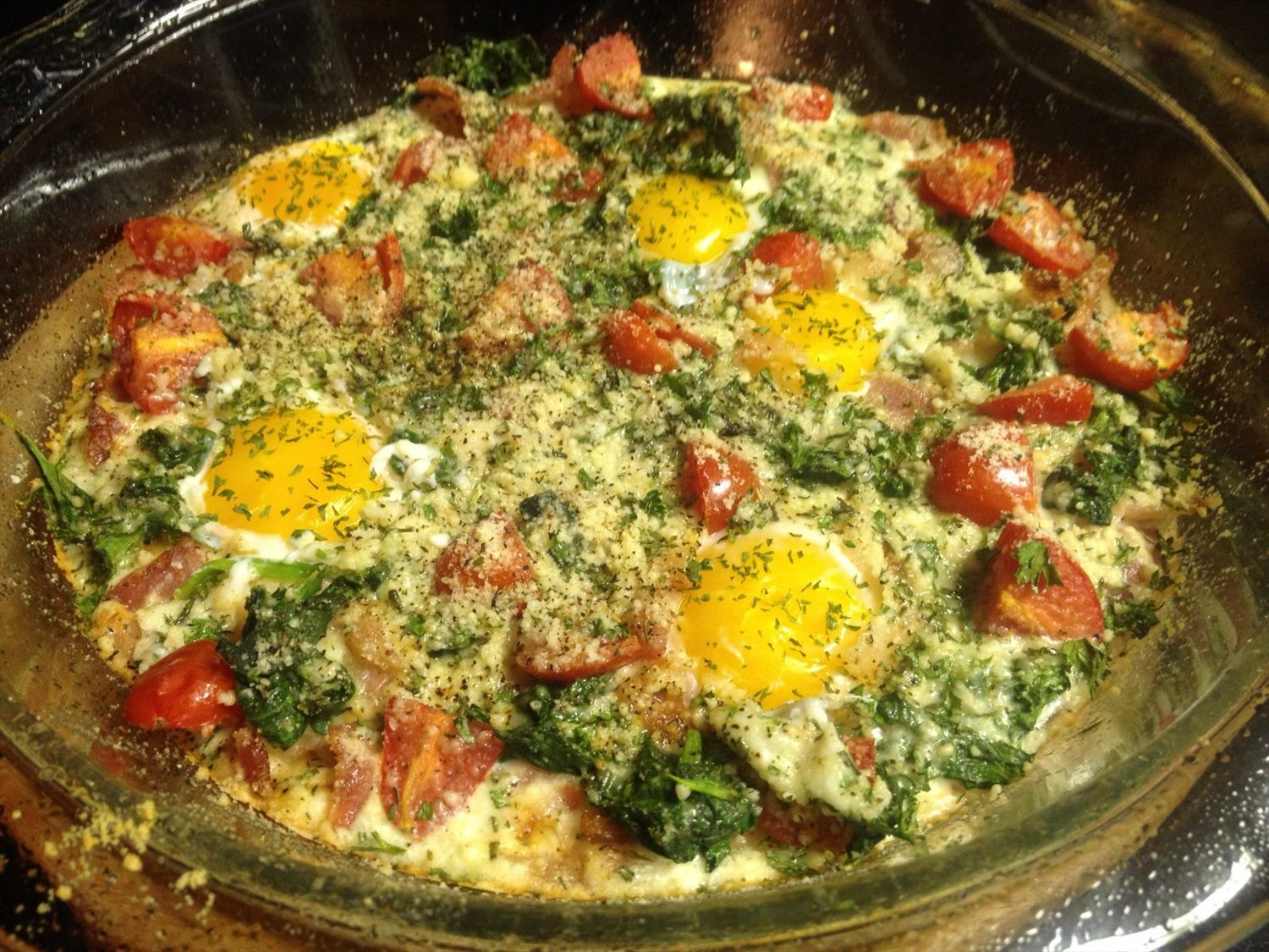 BLT Egg Bake