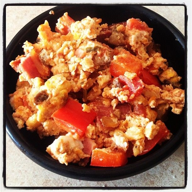 Organic Salsa Breakfast Scramble