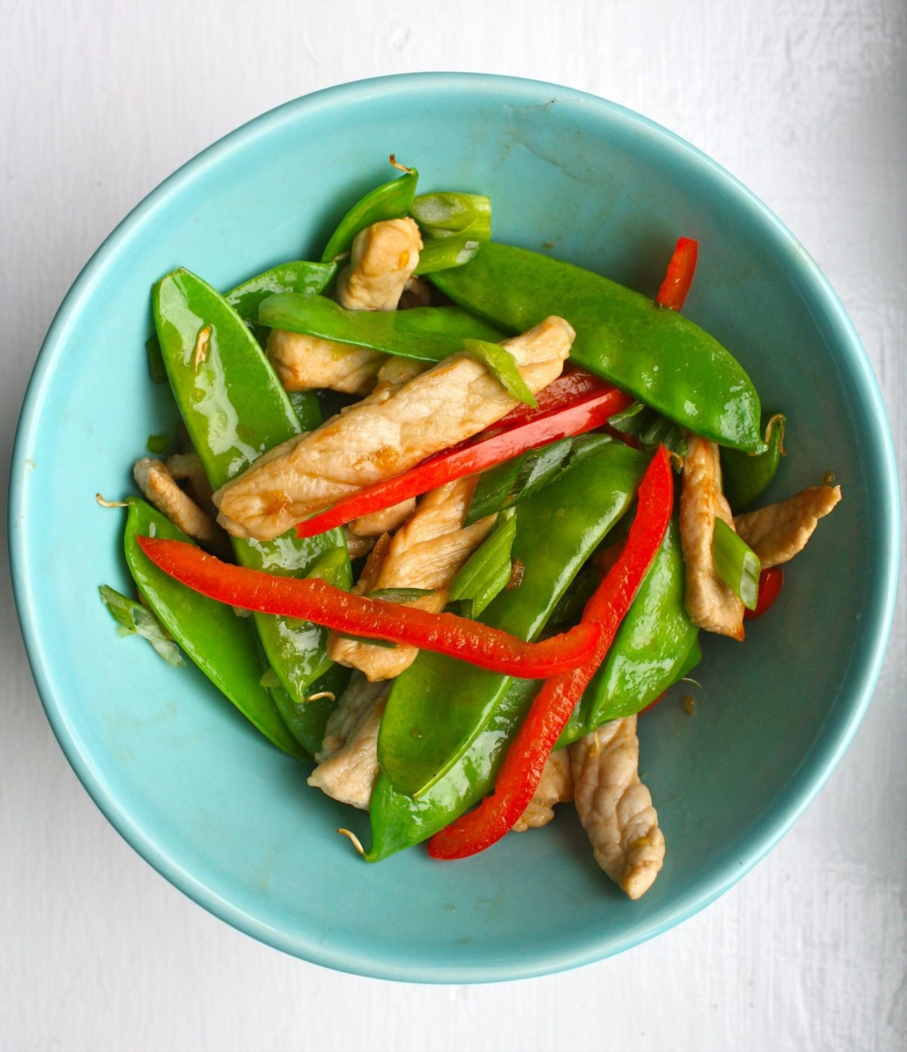Pork and Snow Pea Stir Fry