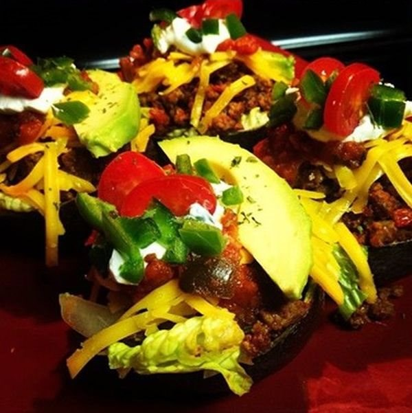 Taco Avocado Boats