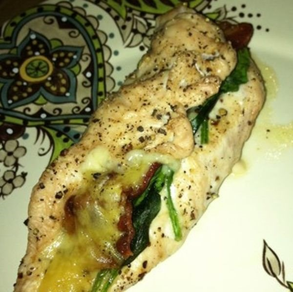 Stuffed Chicken Florentine