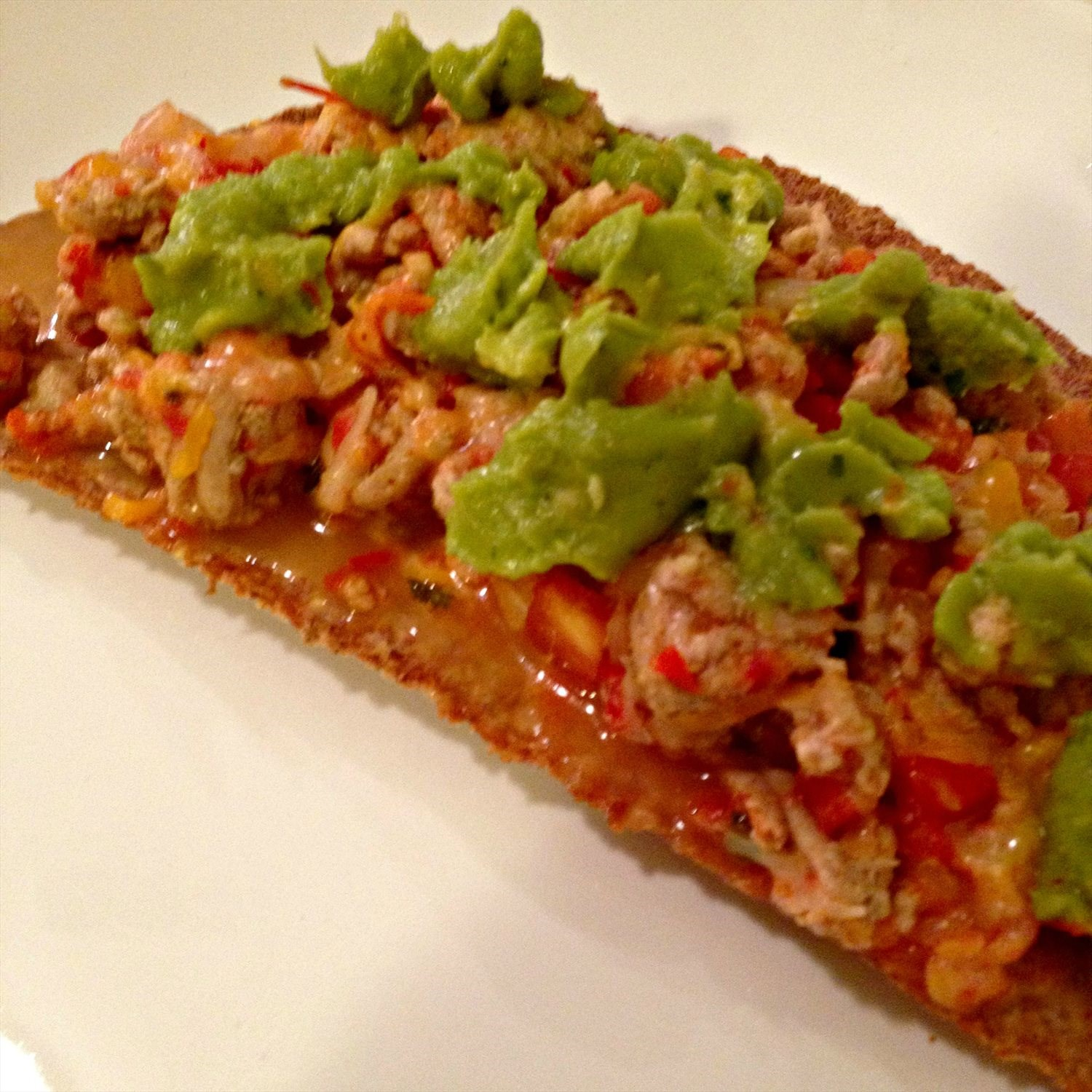 Ground Turkey Tostada