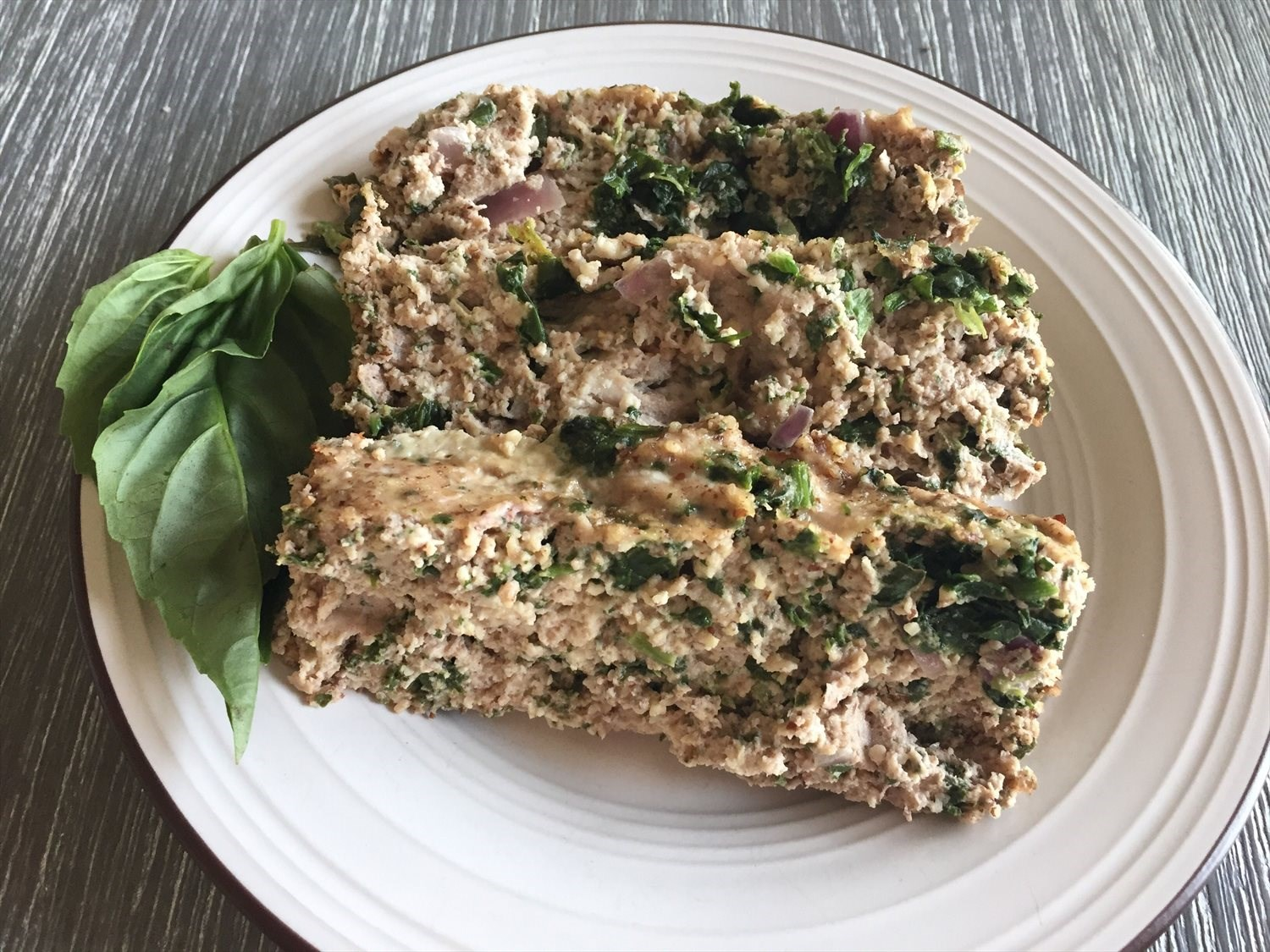Turkey and Spinach Meatloaf