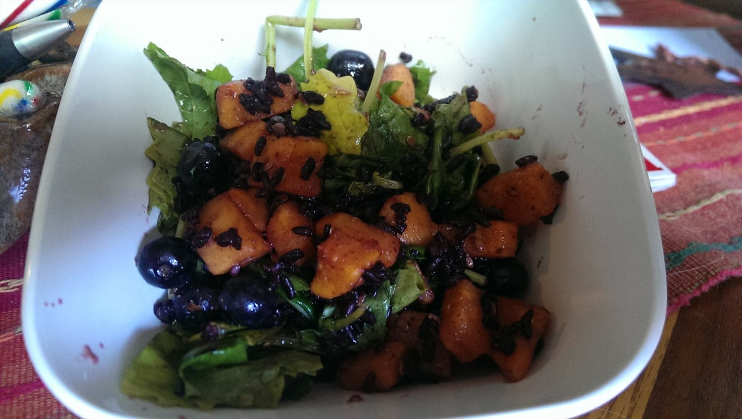 Black Rice and Kale Salad