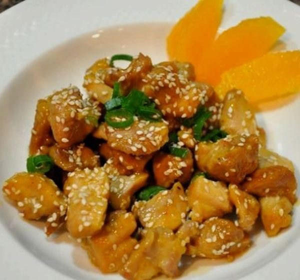 Awesome Crispy Orange Chicken