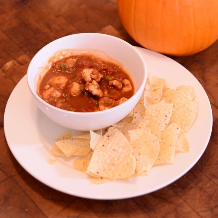 Isabel's Pumpkin Chicken Chili