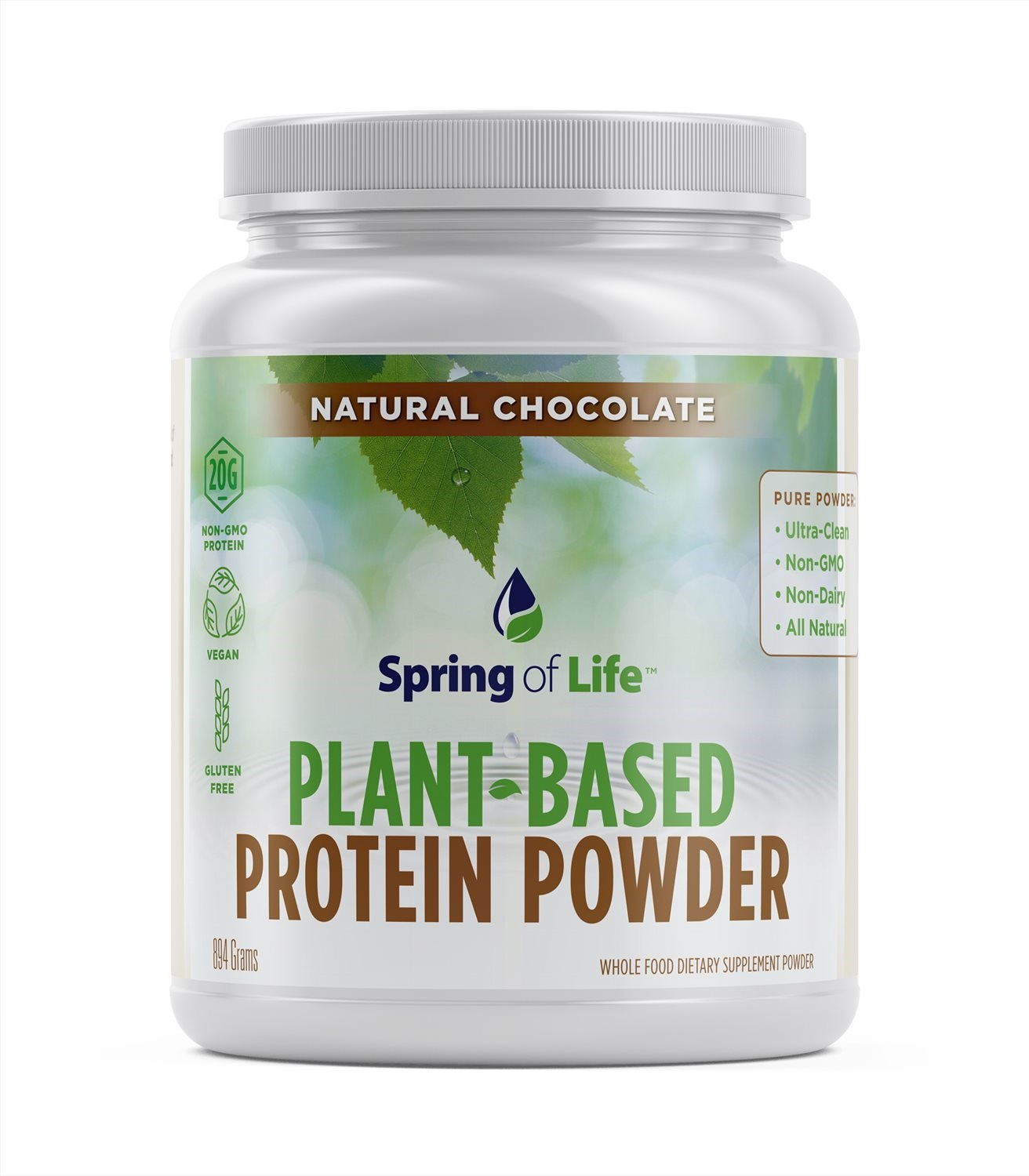Spring of Life Plant-Based Protein Powder