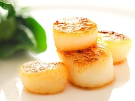 Fresh Wild Caught Scallops