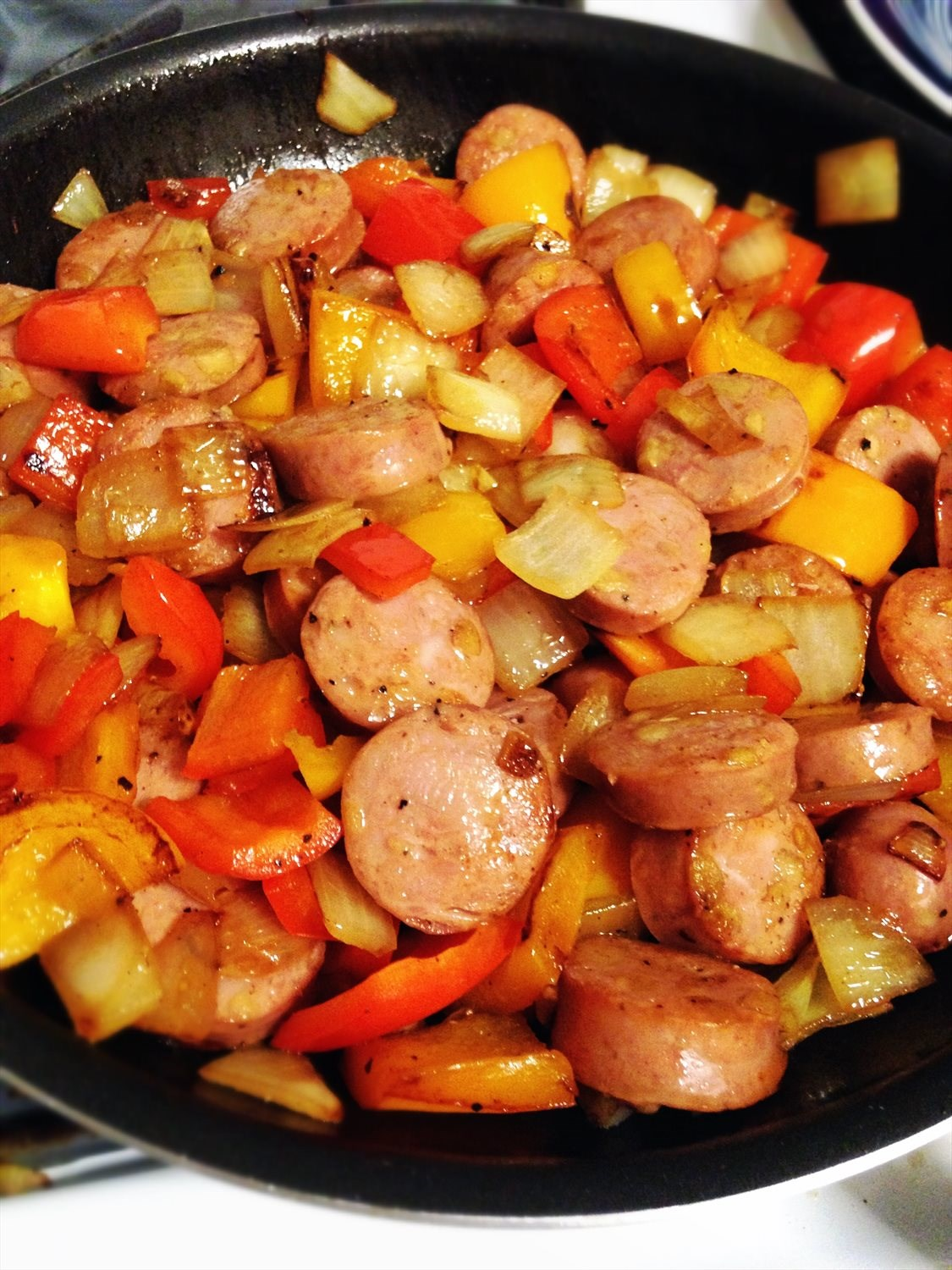 Sausage, Peppers, and Onions