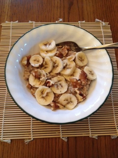 Nut Butter Banana Oatmeal