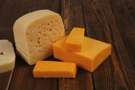 Raw, Organic Cheese